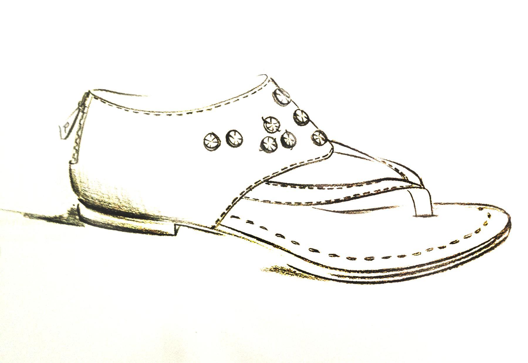 学生作品-广州锦鸿鞋样电脑设计学校